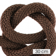 Koord Maritiem 10mm (3x30cm) Dark brown
