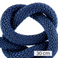 Koord Maritiem 10mm (3x30cm) Dark blue