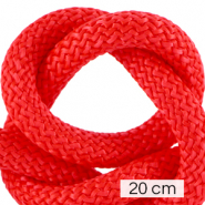 Koord Maritiem 10mm (4x20cm) Fiery red