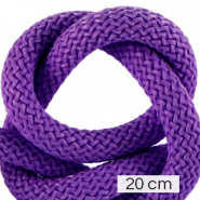 Koord Maritiem 10mm (4x20cm) Dark purple