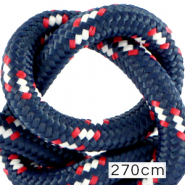 Koord Maritiem 10mm (270cm) Multicolour red white blue