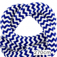 Koord Maritiem 10mm (270cm) White-princess blue