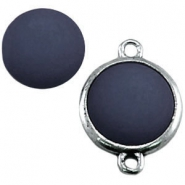 Cabochon Polaris 12 mm matt Denim blue
