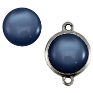 Cabochon Polaris 20 mm shiny Denim blue