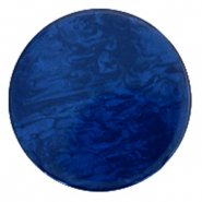 Polaris Elements platte cabochons in 35 mm Lively True blue