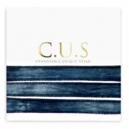 C.U.S lint Dip dye midnight blue