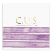C.U.S lint Dip dye heather purple