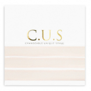 C.U.S lint Shimmery light seashell pink