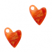 Bedels Plexx hart Warm orange