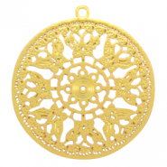 Bohemian hanger round butterfly Gold