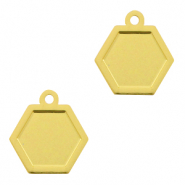 Bohemian hanger hexagon Gold