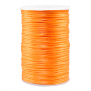 Draad van satijn 2.5mm Bright orange