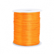 Draad van satijn 1.5mm Bright orange