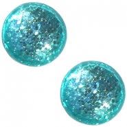 Cabochon Polaris 12 mm Paipolas shiny Erinite green