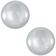 Cabochon Polaris 12 mm shiny Silver shade