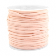 Gekleurd elastiek 2.5mm Pastel peach