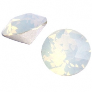 Swarovski Elements puntsteen SS39 (8mm) White opal