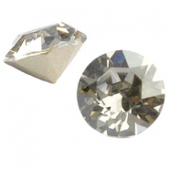 Swarovski Elements puntsteen SS39 (8mm) Crystal silver shade