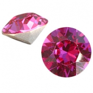Swarovski Elements puntsteen SS39 (8mm) Fuchsia