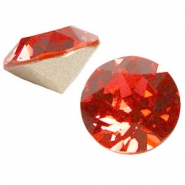 Swarovski Elements puntsteen SS39 (8mm) Padparadscha roze