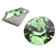 Swarovski Elements puntsteen SS39 (8mm) Erinite green
