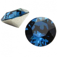 Swarovski Elements puntsteen SS39 (8mm) Montana blue