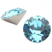 Swarovski Elements puntsteen SS39 (8mm) Aquamarine blue