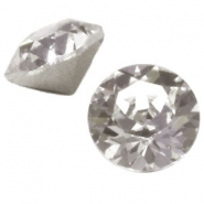 Swarovski Elements puntsteen SS39 (8mm) Greige