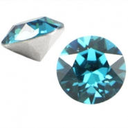 Swarovski Elements puntsteen SS39 (8mm) Indicolite blue