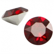Swarovski Elements puntsteen SS39 (8mm) Siam red