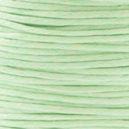 1.0 mm waxkoord Crysolite green