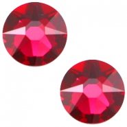 Swarovski Elements flatback 2088-SS34 Xirius Rose Ruby red
