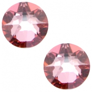 Swarovski Elements flatback 2088-SS34 Xirius Rose Crystal antique pink