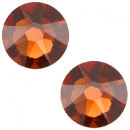 Swarovski Elements flatback 2088-SS34 Xirius Rose Smoked topaz