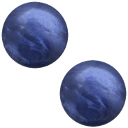 Cabochon Polaris 12mm Mosso shiny Midnight blue
