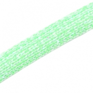 Dreamz koord glitter 10 mm Bright green