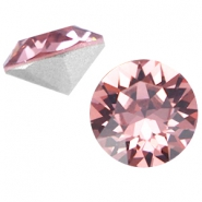 Swarovski Elements puntsteen SS39 (8mm) Blush Rose