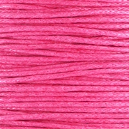 1.0mm Waxkoord Hot pink