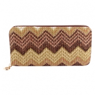 Portemonnee Aztec Multicolor brown