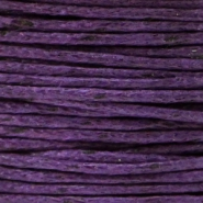 1.0mm Waxkoord Purple
