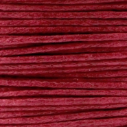 1.0mm Waxkoord Ruby red