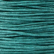 1.0mm Waxkoord Dark emerald green