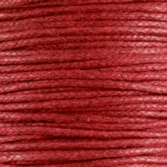 1.5 mm Waxkoord Ruby red