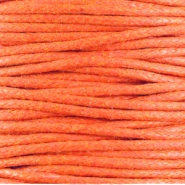 1.5 mm Waxkoord Warm orange