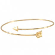 Metalen armband arrow Goud