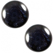 Cabochon Polaris 12mm Jais Montana blue