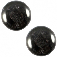 Cabochon Polaris 12mm Jais Black