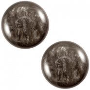 Cabochon Polaris 20mm Jais Dark brown