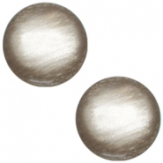 Cabochon polaris soft tone 12mm shiny Greige