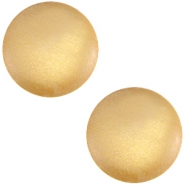 Cabochon polaris soft tone 20mm matt Golden yellow